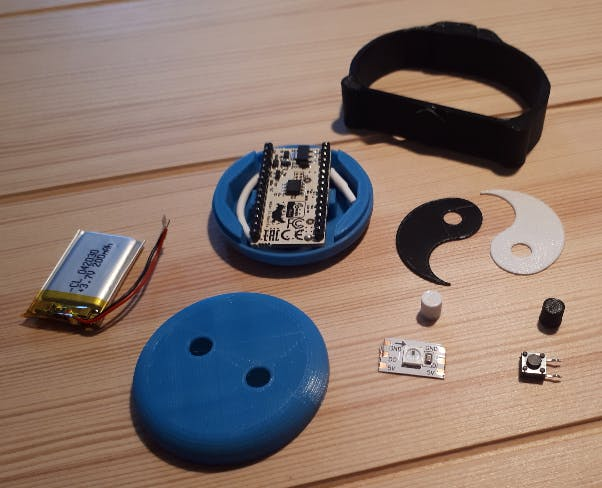 Emergency Button parts