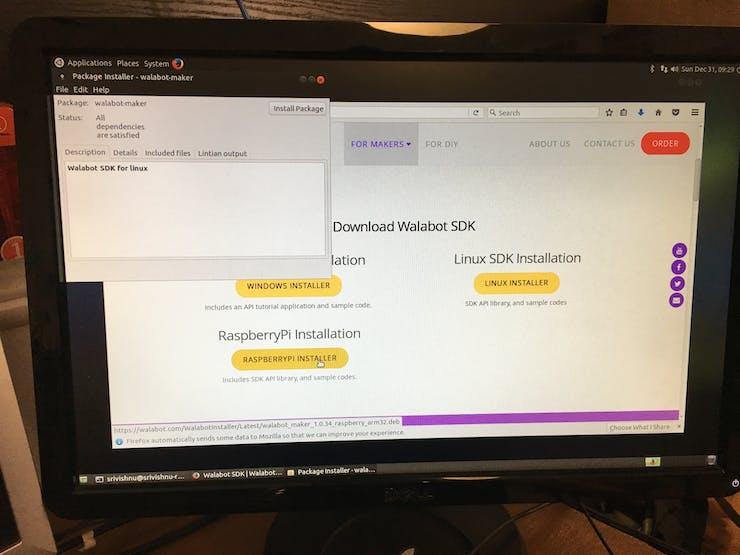 Download the Raspberry Pi Installer