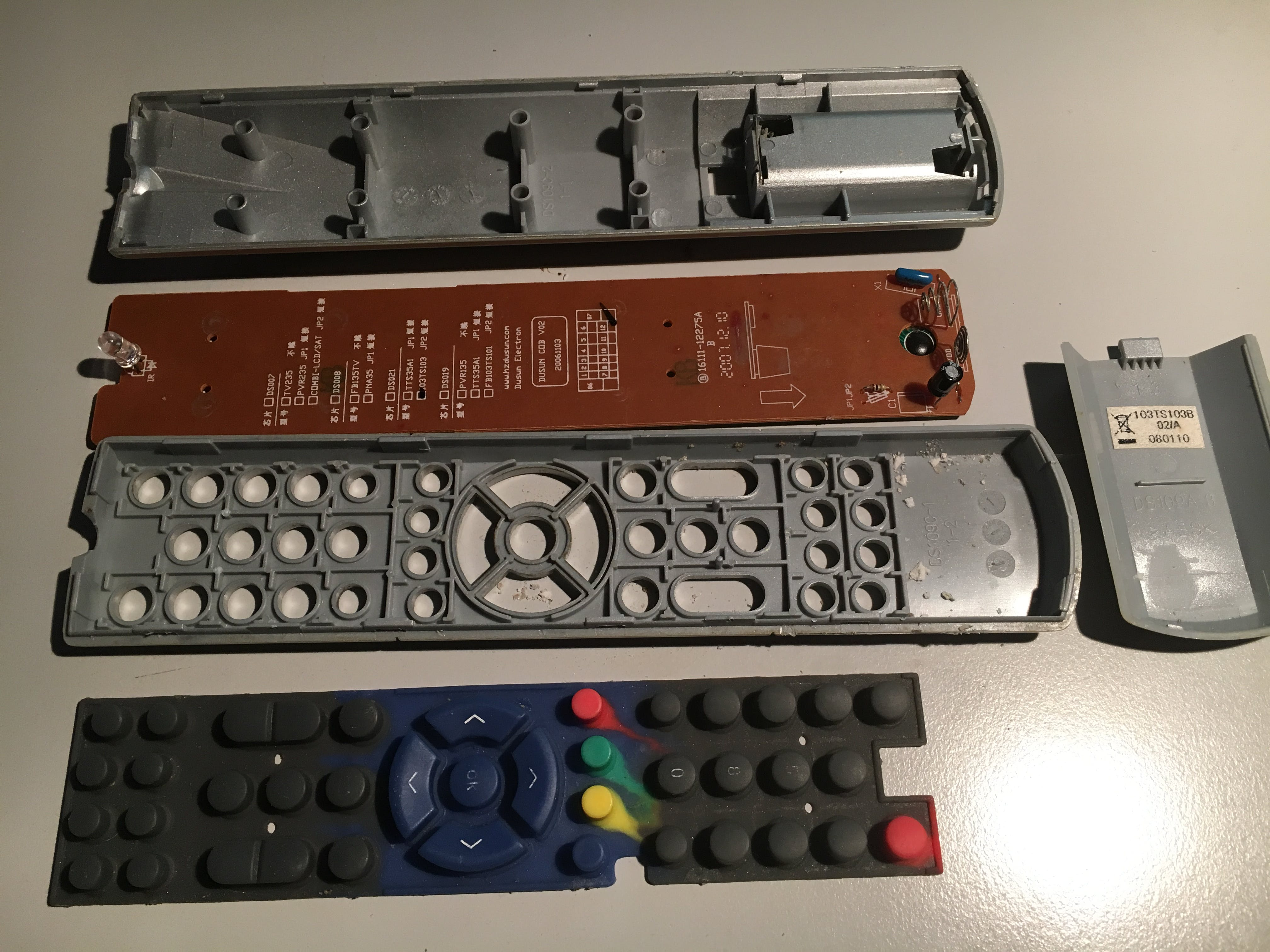 TechniSat Remote Control