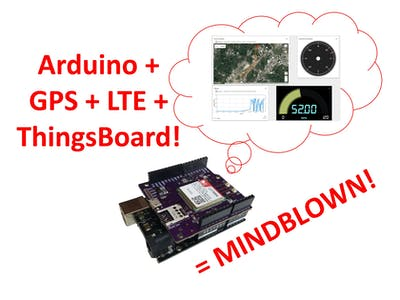 Real-Time 2G/3G/LTE Arduino GPS Tracker + IoT Dashboard