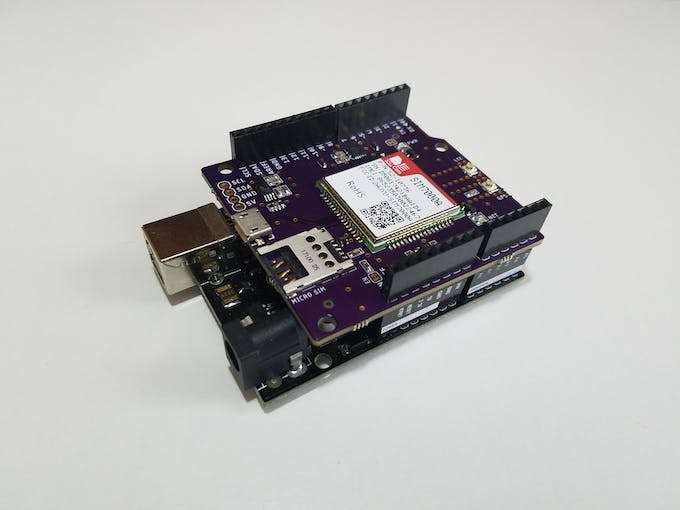 Real time g lte arduino gps tracker iot dashboard