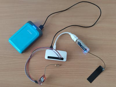 Media Content Wi-Fi Hotspot with GPS Tracker