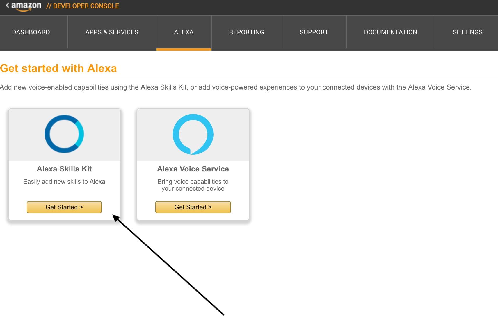 Creating Alexa Skill
