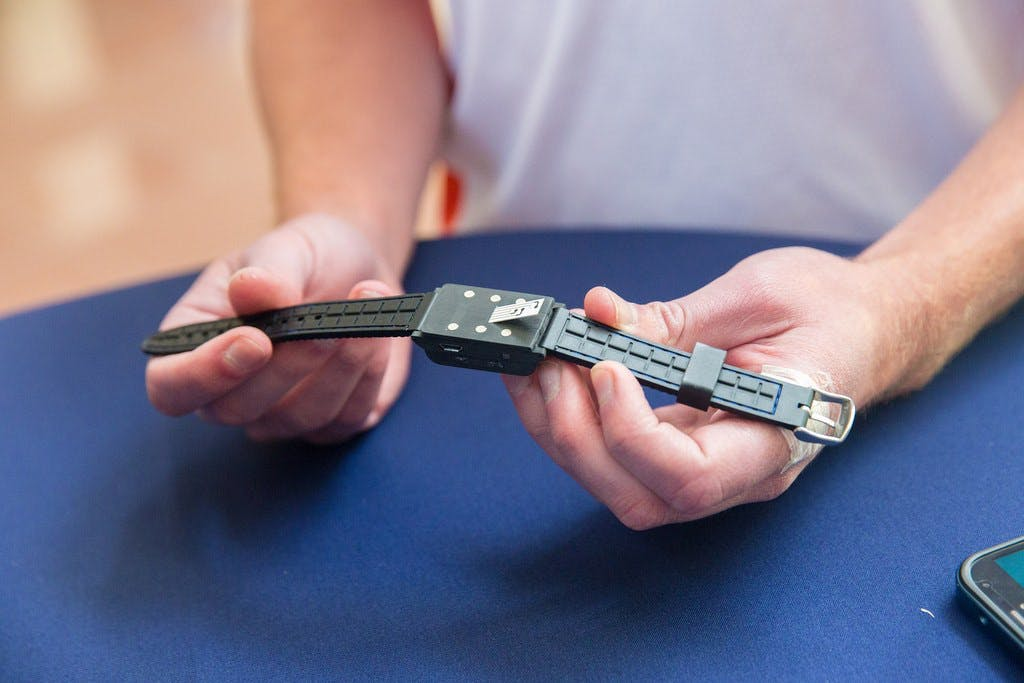 Wearables requires charging and hygiene maintenance