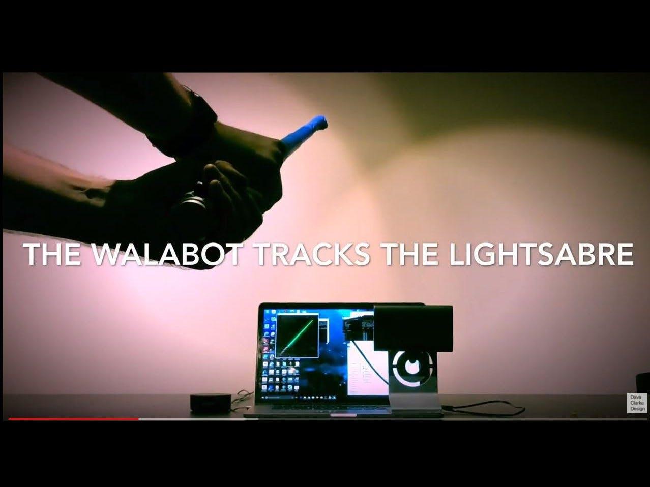 Alexa Walabot Lightsaber Trainer
