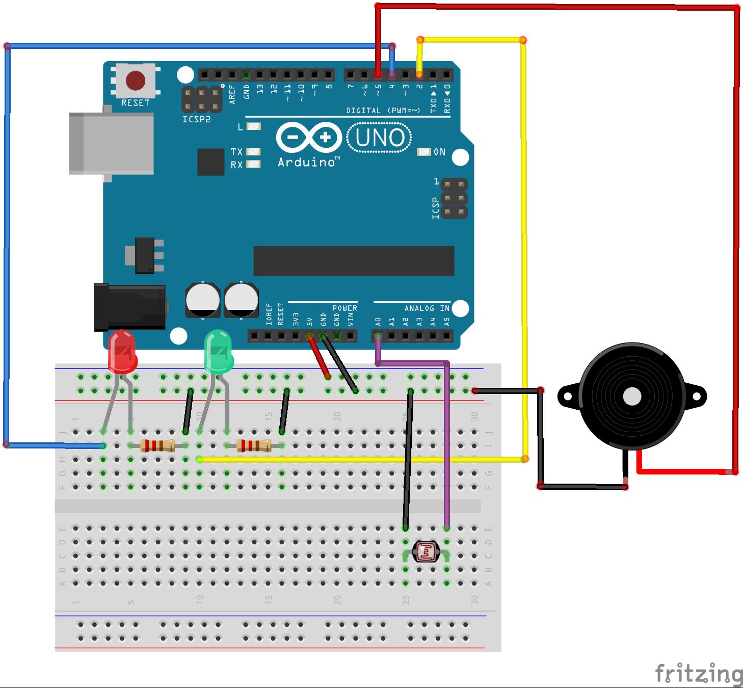 Super Simple Fun Laser Tripwire - Hackster.io