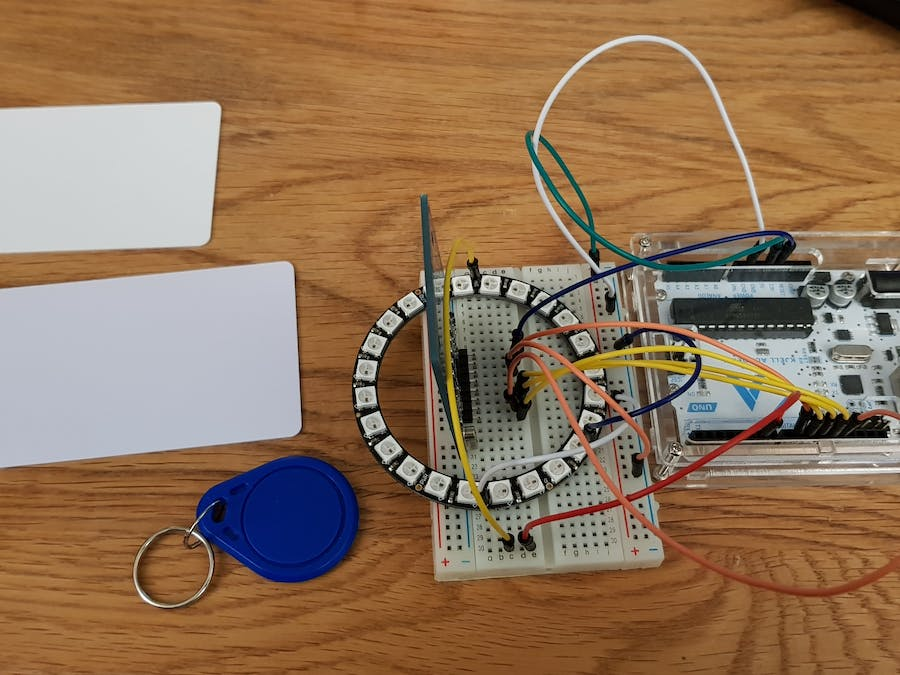 Access RFID with Light Feedback