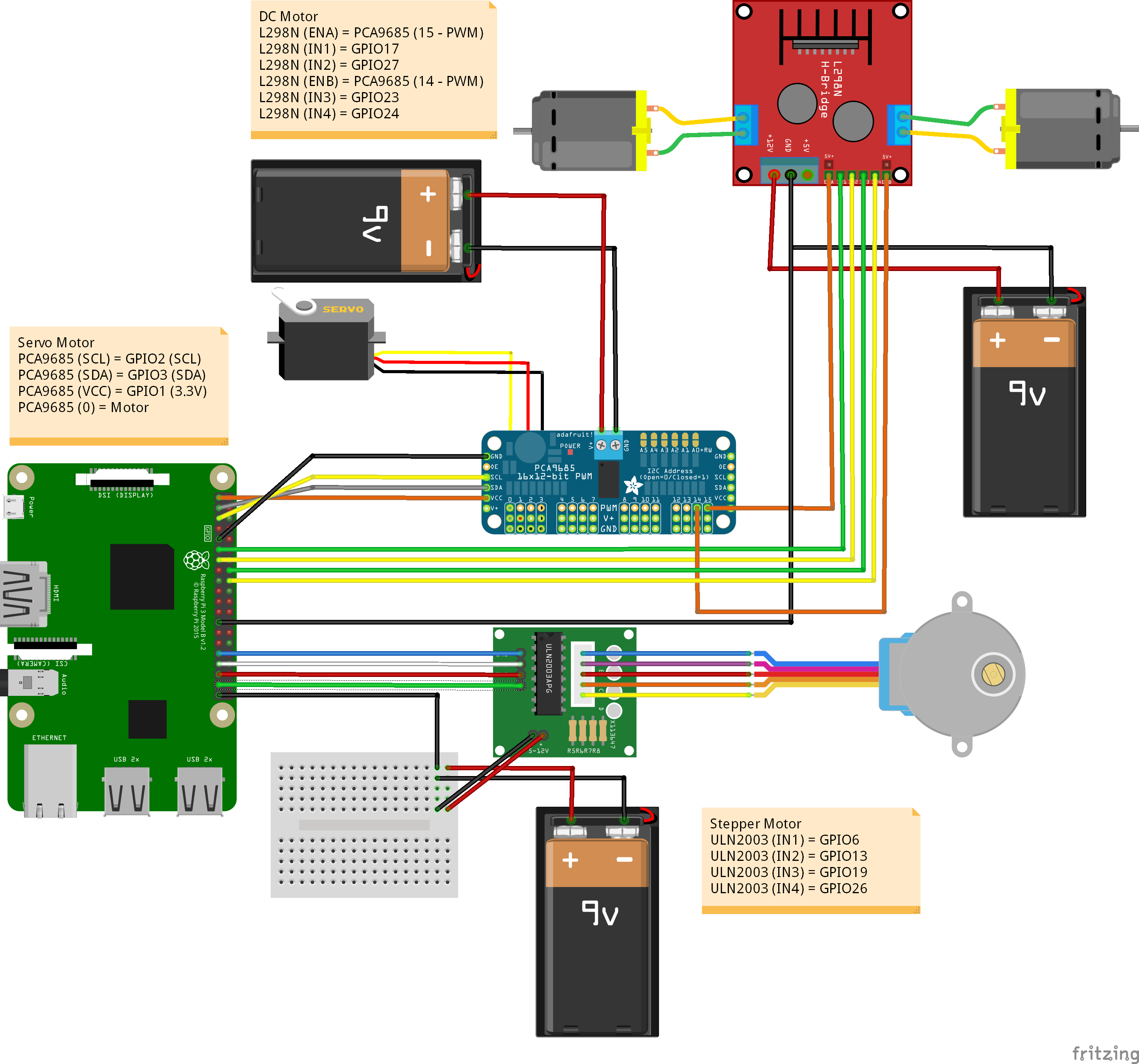 Windows Iot Stepper Servo And Dc Motors Motor Wiring Diagram Free Download Schematic 6y4ym2lbgn