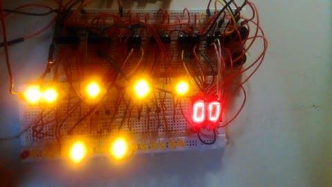 LEDs and 7-Segment