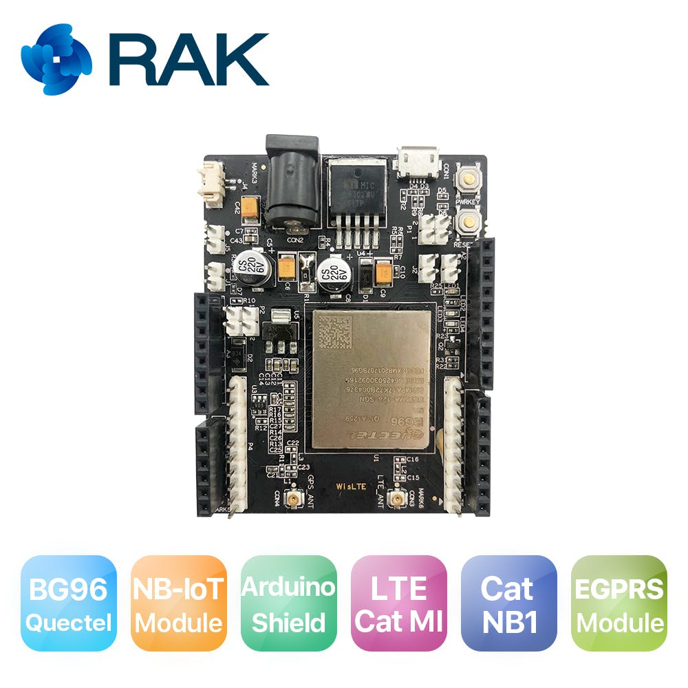 Wislte quectel bg96 nbiot arduino friendly board support lte cat m1 catnb1 and egprs module nb hzxmwvct5v