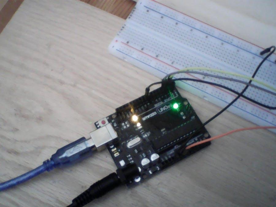Door Alarm With Ultrasonic Sensor