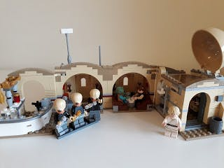 Lego sliding door - In the Tatooine Desert