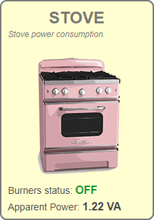 Widget - Stove (OFF)