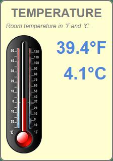Widget - Temperature (Cool)