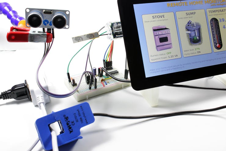 Remote home Monitor with Hologram NOVA
