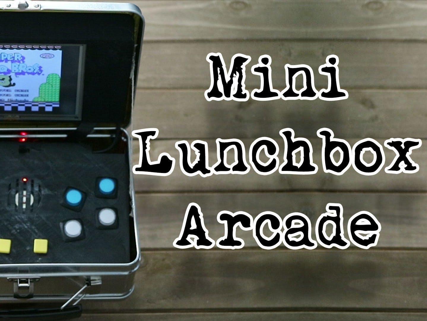 Mini Lunchbox Arcade!