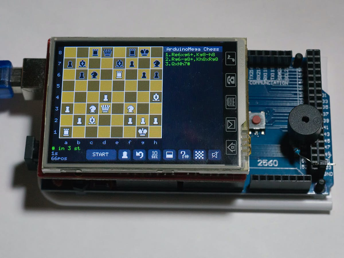 Arduino Mega Chess
