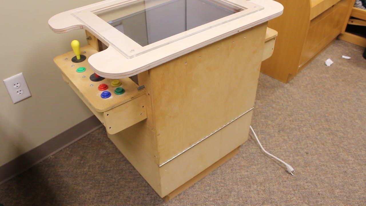 Original Homemade Arcade Cabinet