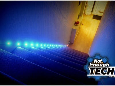 Automated Staircase RGB LED Lights