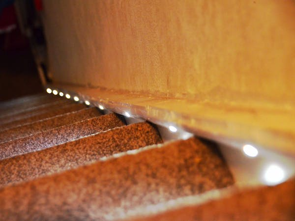 Automatic Stair Lights - Hackster.ioHackster.io