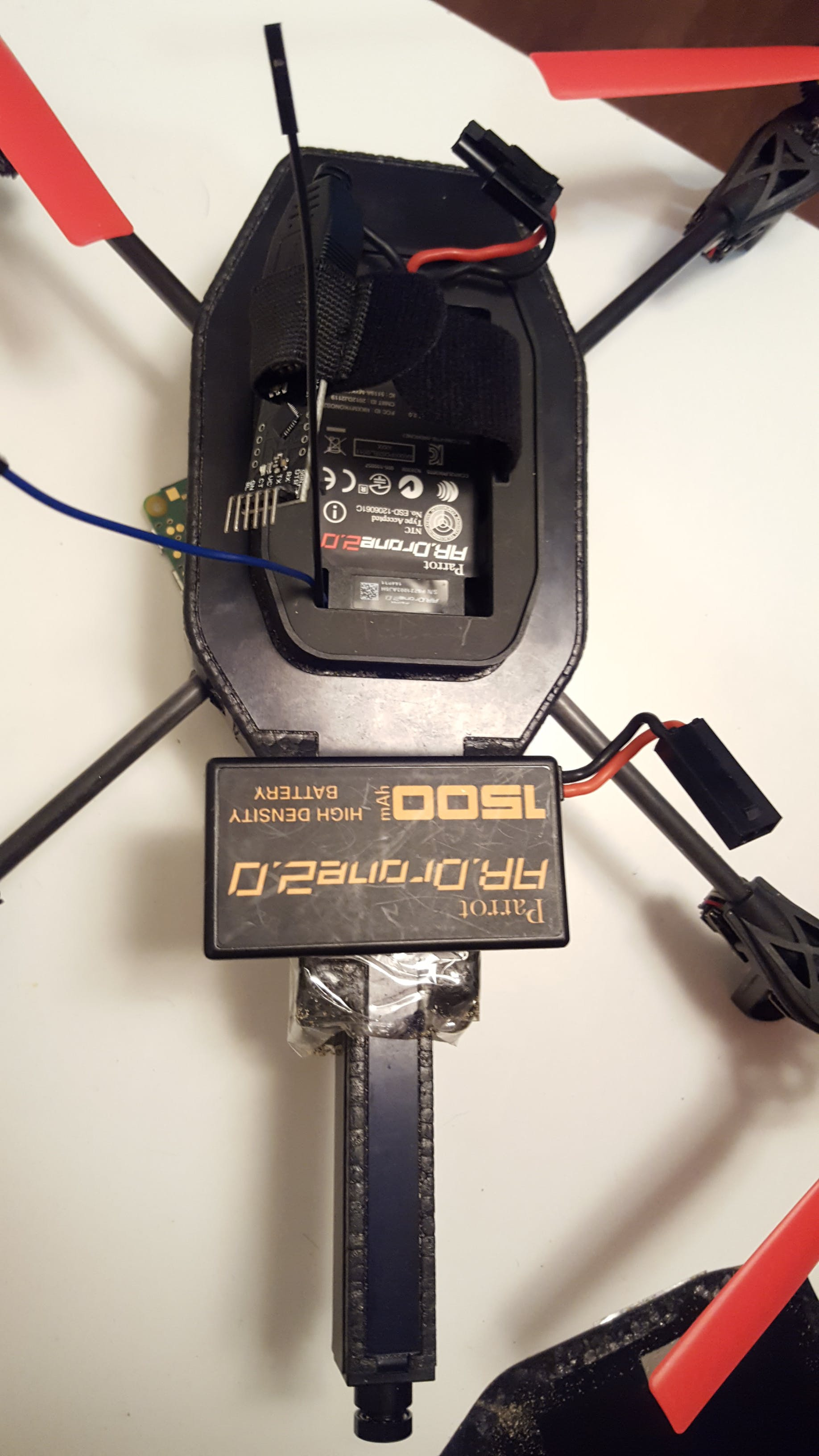 Converter regulates power from USB port to cables