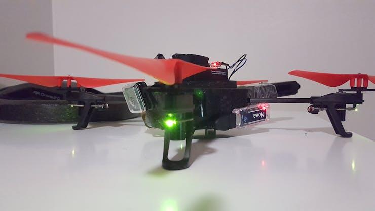 Cellular Connected Autonomous AR Drone 2 0 - Hackster io