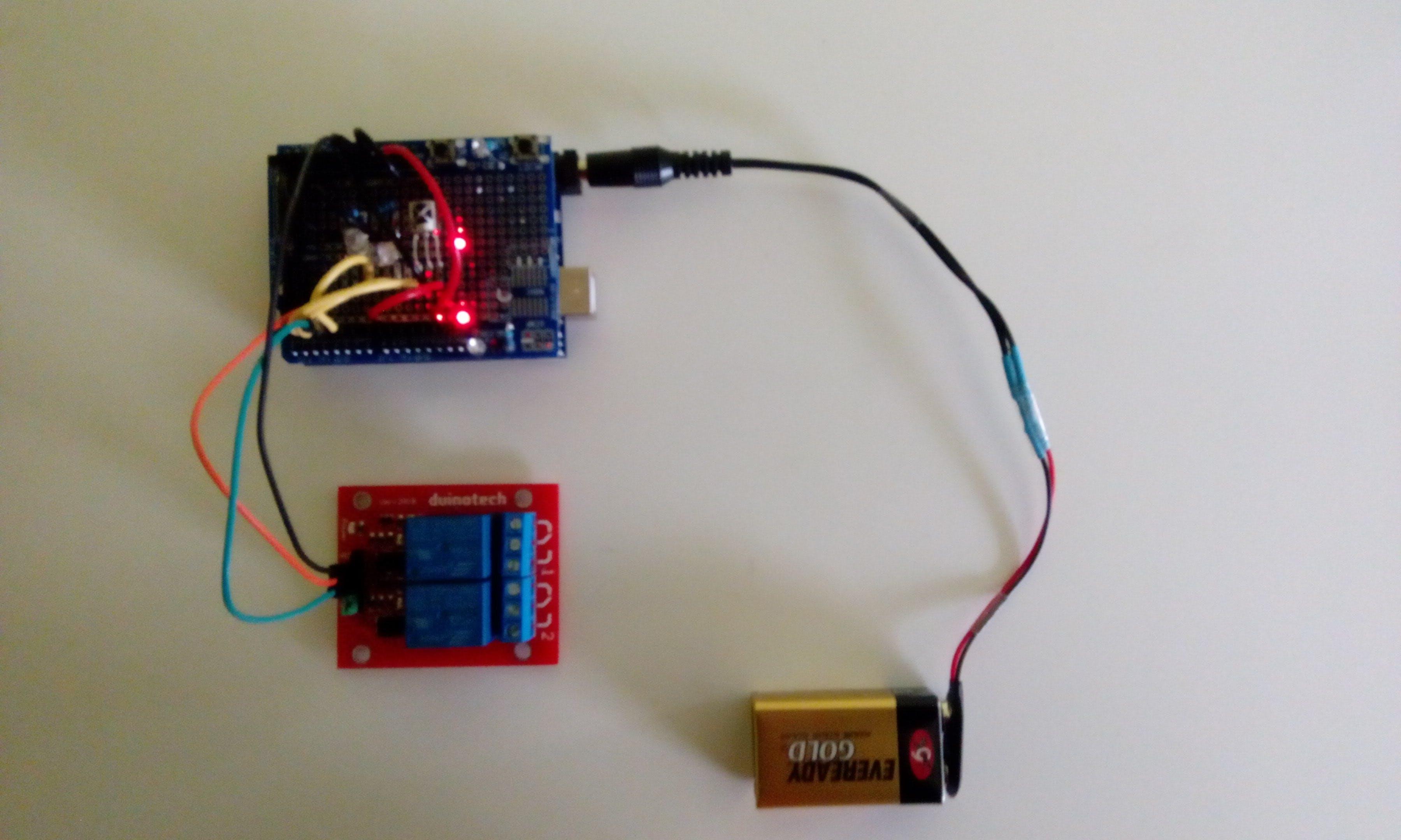 Compact IR Reciever