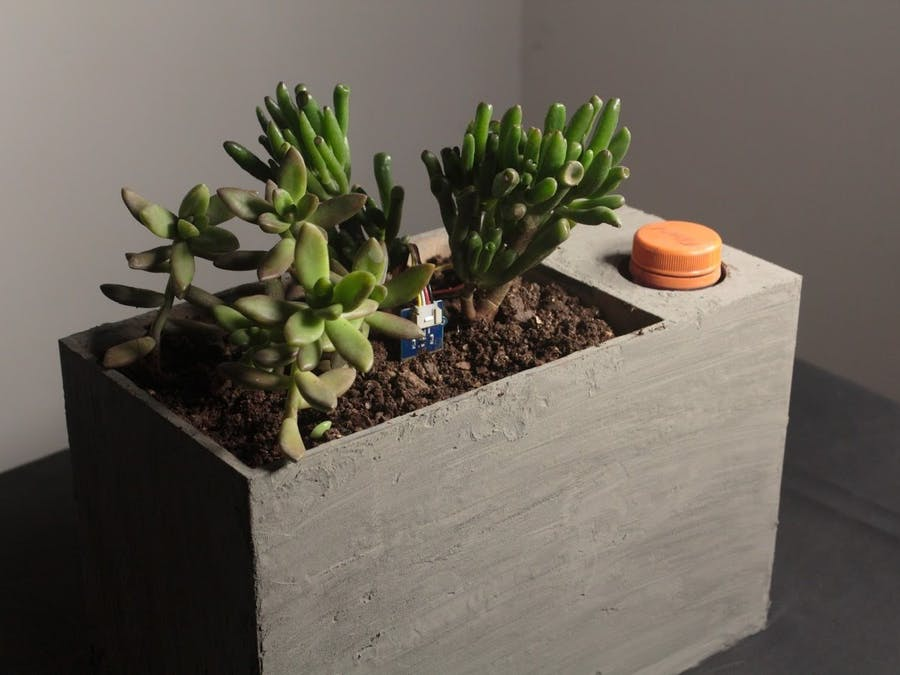 Sprout: Modern Indoor Self Watering Planter - Arduino Project Hub