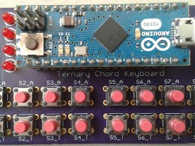 Ternary Chord Keyboard