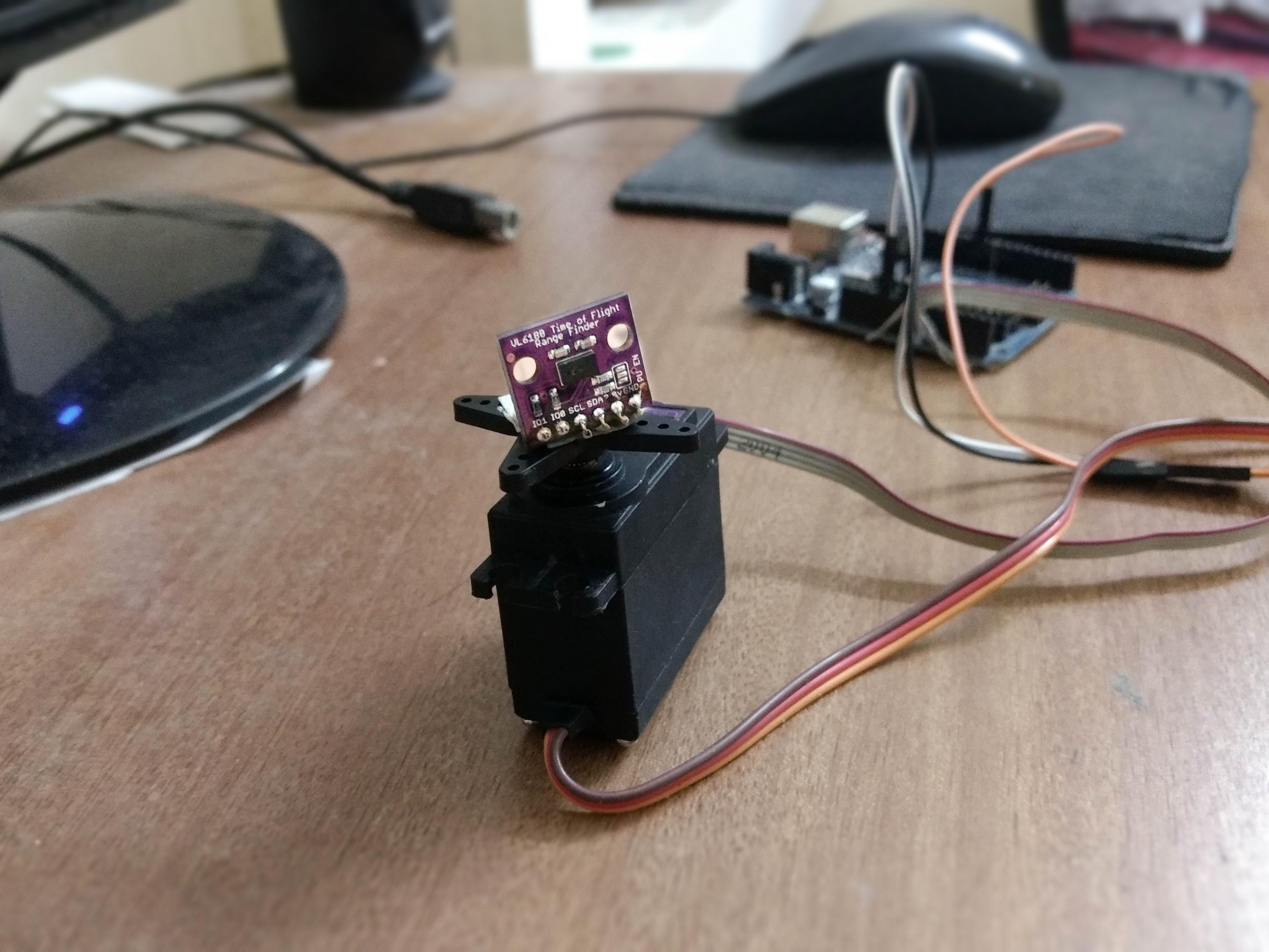 Arduino LIDAR