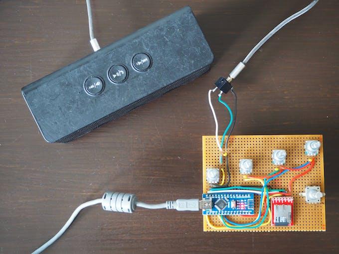 ANDI - Random Rhythm Generator - Electronics © CC BY-NC-SA   Trybotics