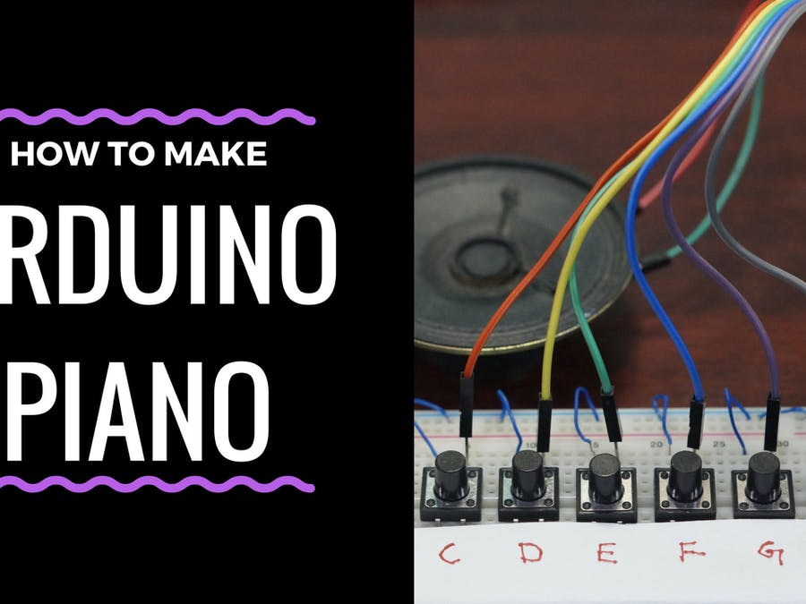 Arduino Tutorial : Mini Piano