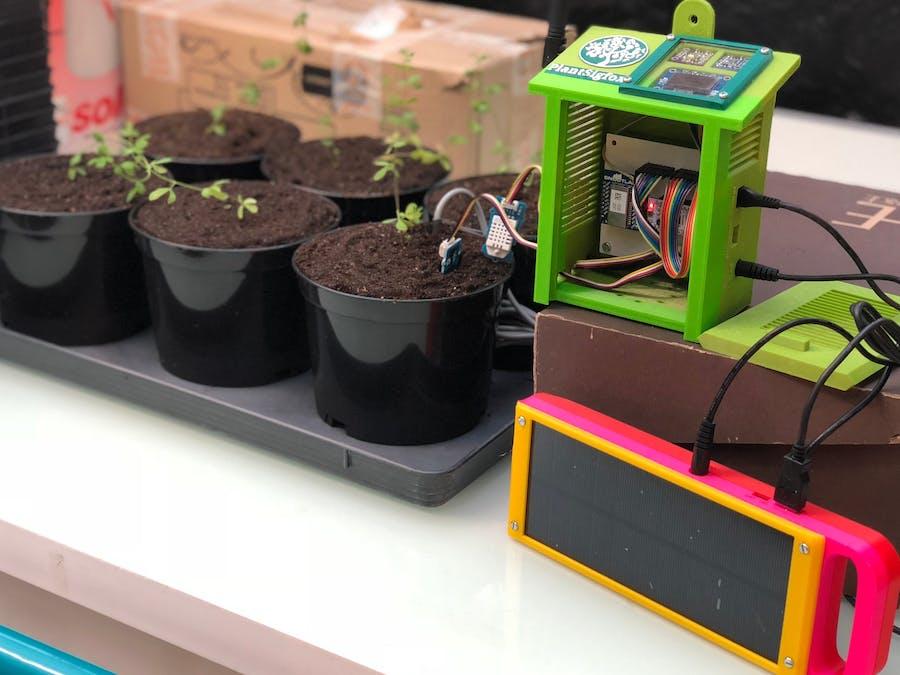 PlantSigfox Monitoring
