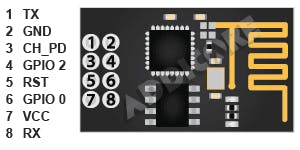 ESP8266 Pin Configuration