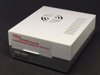 NESPi Auto Variable Speed Fan and Shutdown Button