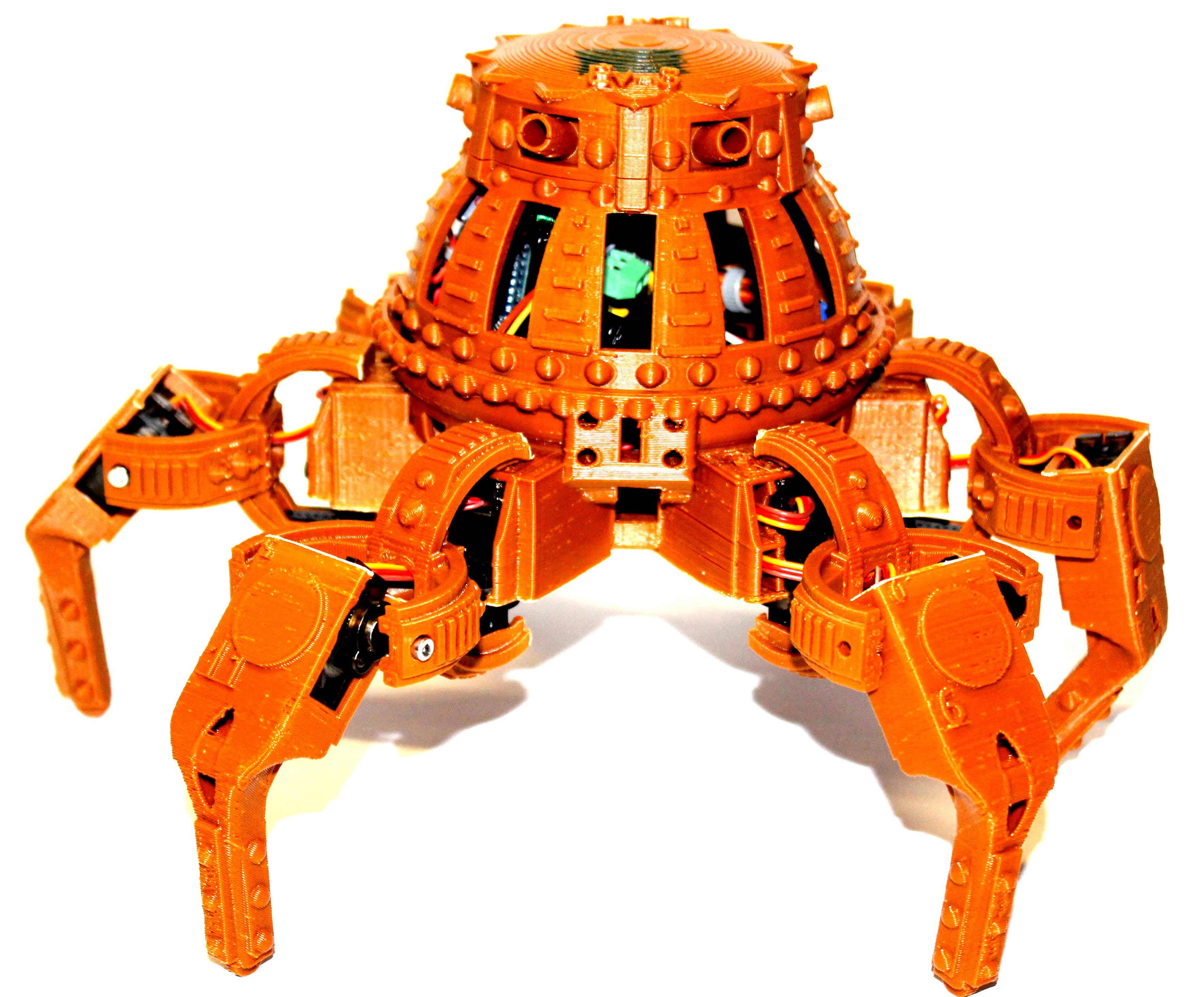 This amazing Steampunk version of Vorpal was designed by a high school student, Evan Gagnon