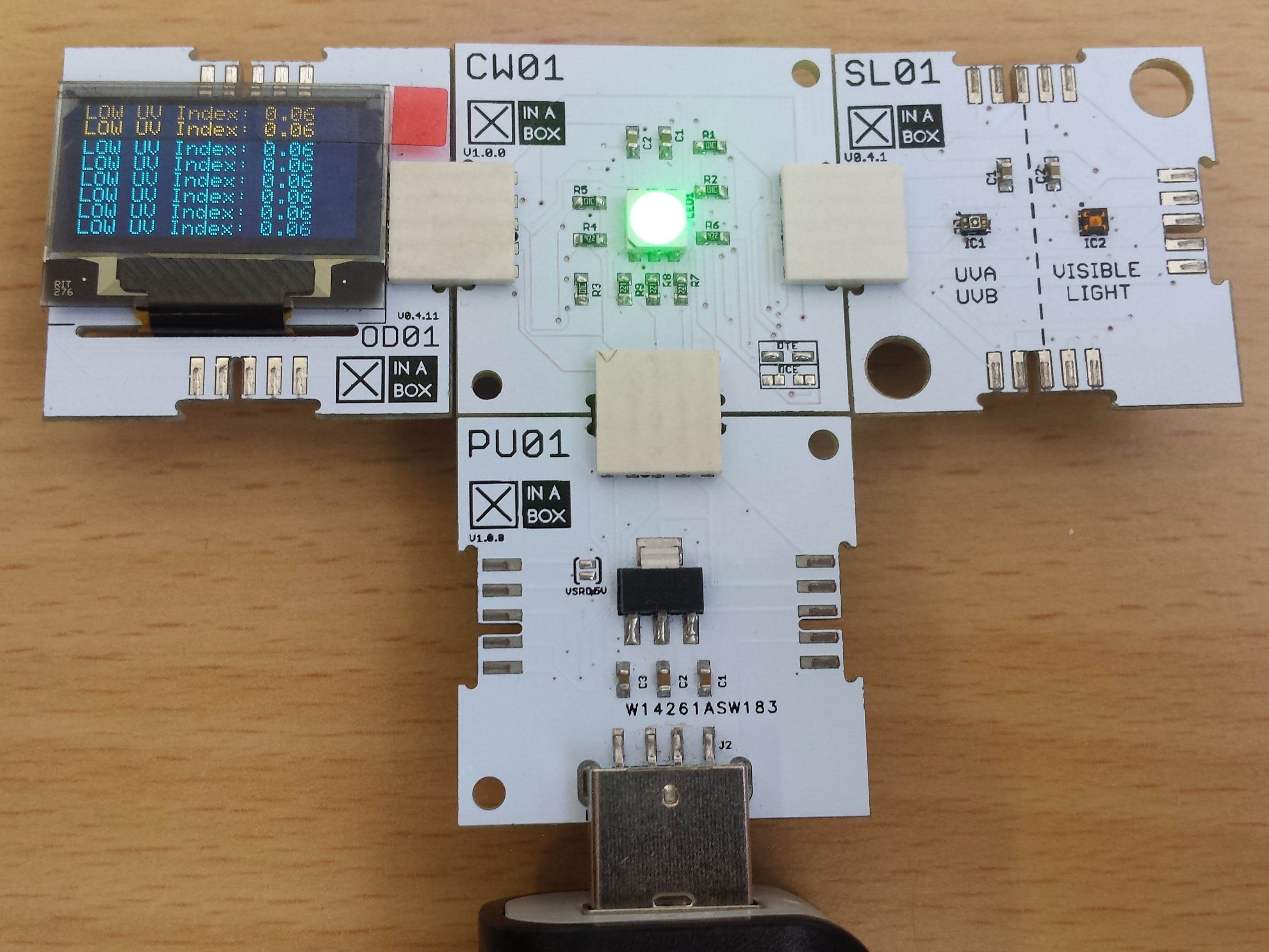 UV Index Alert Using XinaBox ☒CHIPS and Arduino