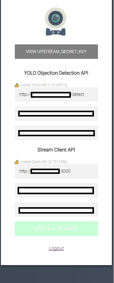 You should put publicly reachable URLs
