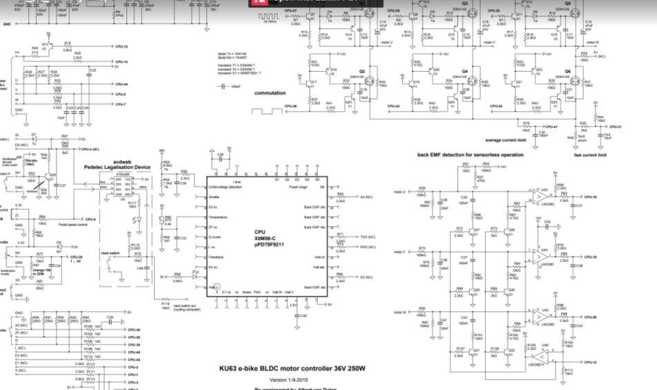 Brushless Dc Motor Control Schematic Diagram Ku63 Motor Controller