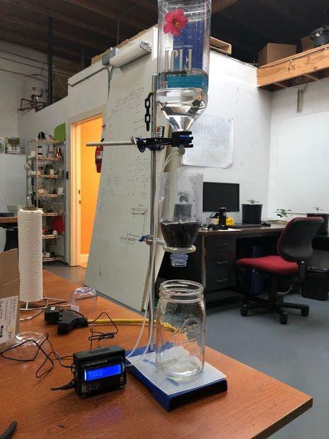 DIY Arduino Slow-Drip Cold Brew Coffee Tower