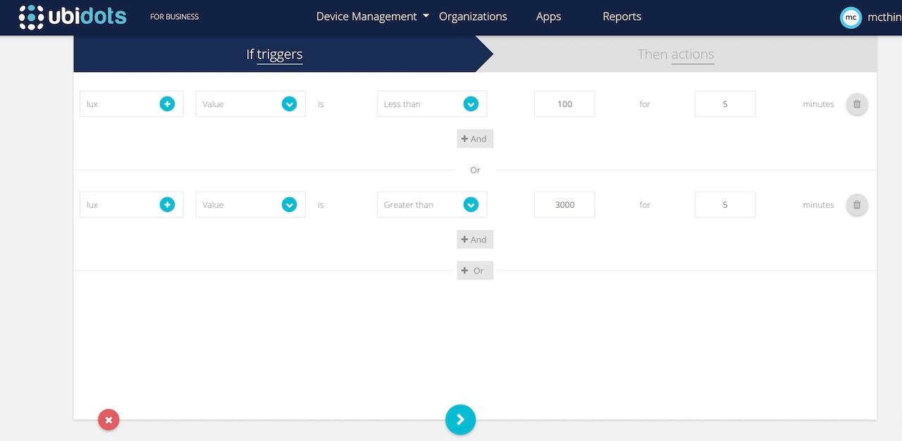 IoT Light/LUX Sensor Monitoring Using the TrackALL