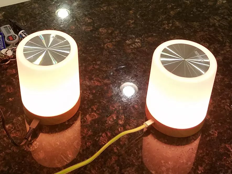 Synchronized Wifi Touch Lights