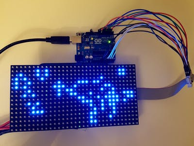 Arduino LED Matrix Game of Life