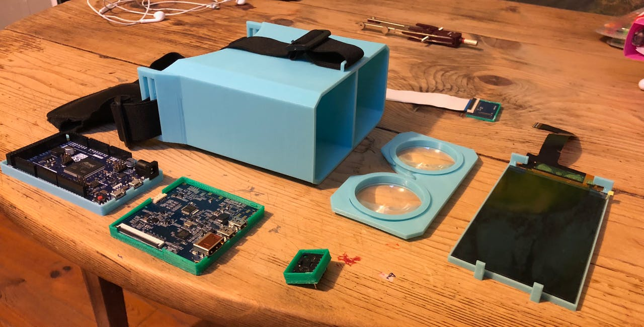 Relativ - Build Your Own VR Headset for $100 - Hackster io