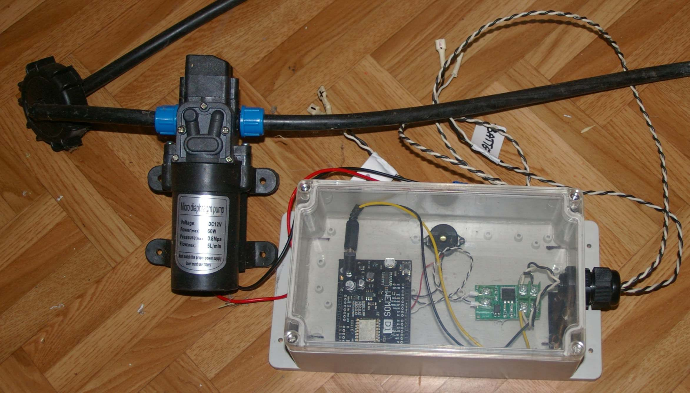 Controller for Chemical Dosing Pump