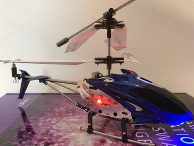 Syma S107G Remote Control Helicopter With An Arduino