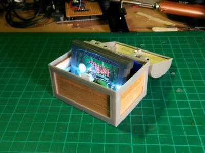 Zelda Treasure Chest (With Lights and Sound)