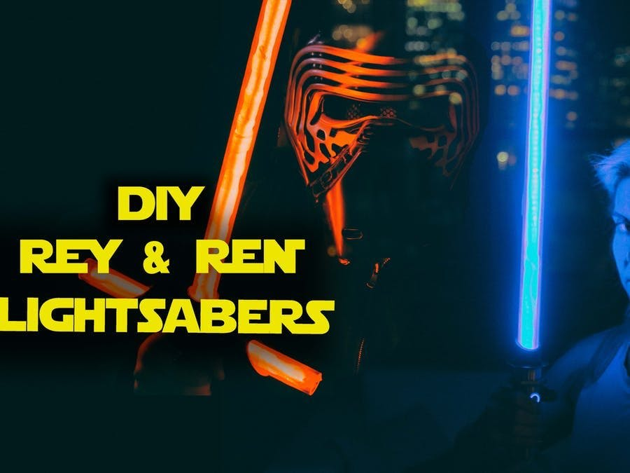 NeoPixel Lightsabers w/ Party Modes -- Arduino-Controlled