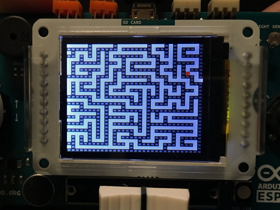 Challenging Maze Game