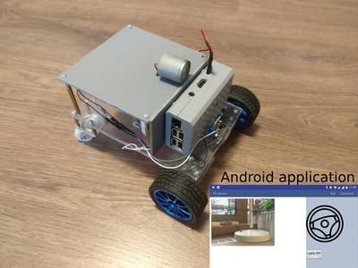 Mobile Remote Surveillance Camera